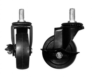 "3"" Casters WITH Brakes 