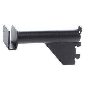 3 Pipe Hangrail Bracket  Matte Black