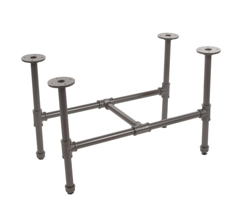 Pipeline Small Retail Display Table FRAME only  | GREY