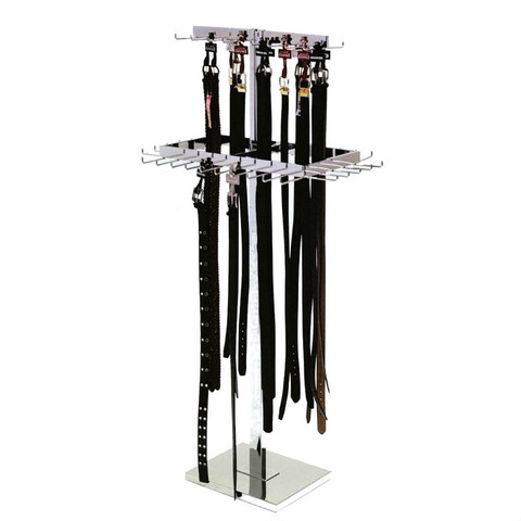 Two Level Belt Tie Rack