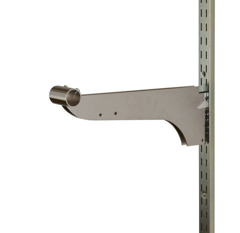 "12"" Double Bracket w/ Nylon Stabilizer for 1.25"" Round Tube 