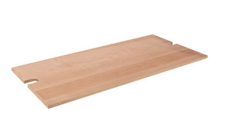 Wood Base For Matte Black Single Rail Ballet Pipe Rack  Matte Black