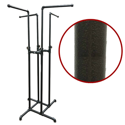 4-Way Pipe Clothing Rack | COPPERVAIN