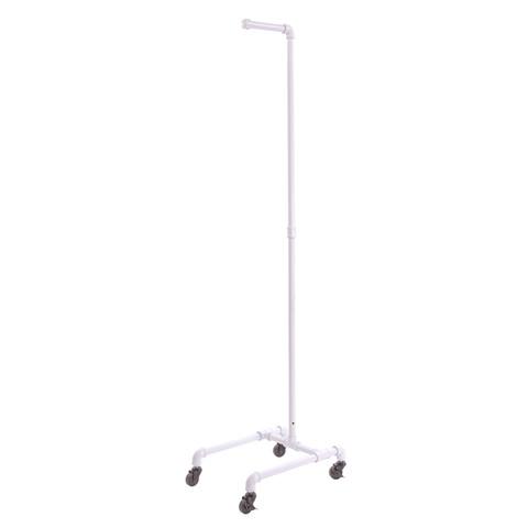 Pipe 4-Leg Costumer Stand | Gloss White