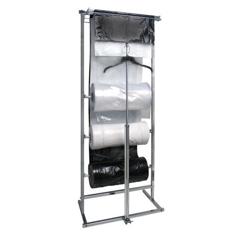 3 Roll Garment Bags Dispensing Rack