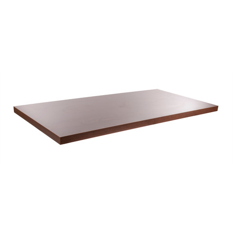 Table Top ONLY For Small Pipe Nesting Table Frame - Dark Brown