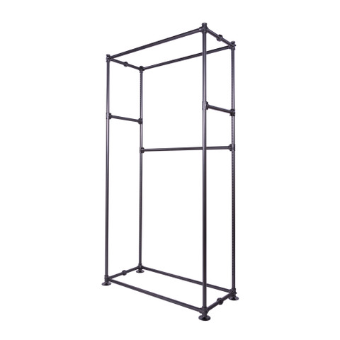 Pipeline Free Standing Wall Display  Anthracite Grey