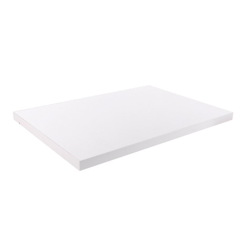 24 Shelf For Pipeline Wall Display | White