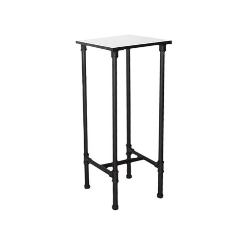 Small Pipeline Nesting Tower Display Table  MATT BLACK