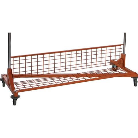 5ft Z Rack Bottom Shelf Orange