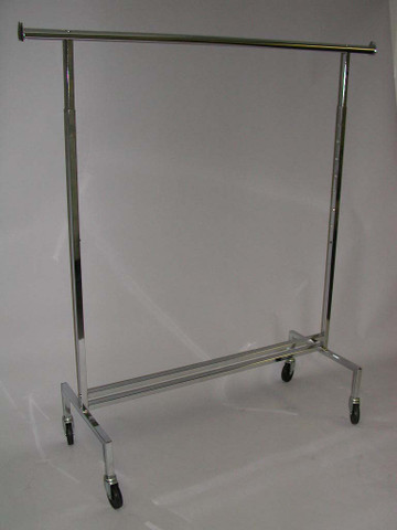"""60"""" Long Rolling Clothing Rack 
