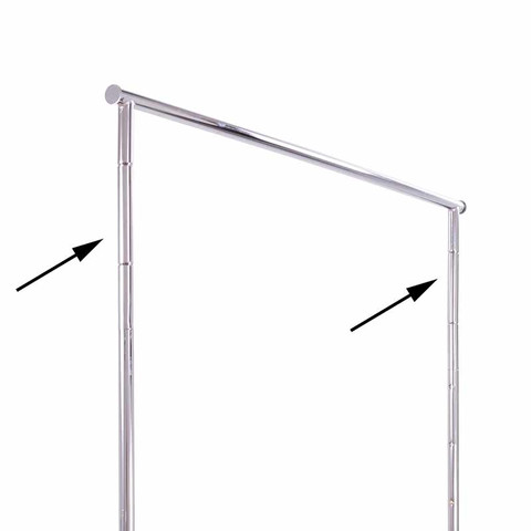 6 Height Extenders for Collapsible Clothing Rack