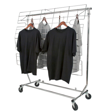 TWO In ONE Screen or Shelf for Single Rail Folding Rack