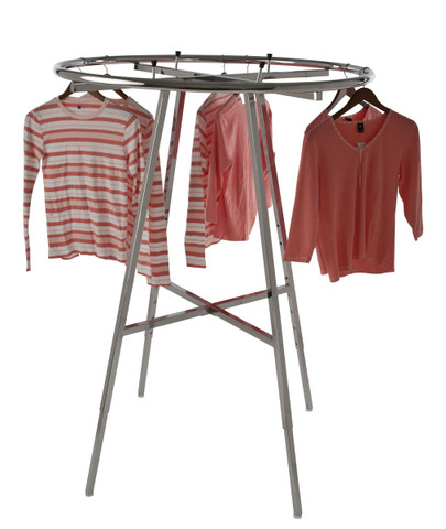 "42"" Round Clothing Rack"