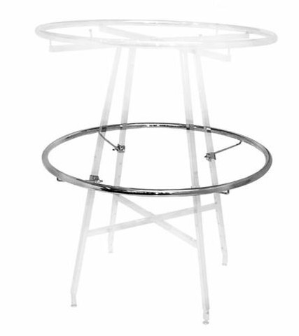 """36"""" Round Rack Add-On or Replacement Display Rail 