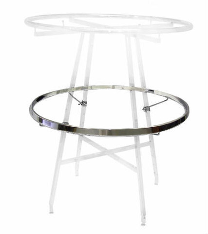 Replacement or Add-On Display Rail For 36 inch Round Clothing Rack