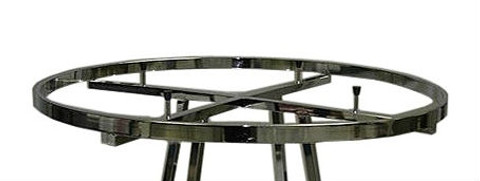 """Add-On or Replacement Display Rail For 36"""" Round Clothing Rack"""