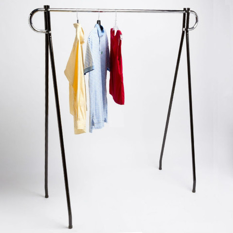Single Rail Garment Racks