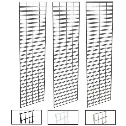 2' X 8' Slatgrid Panels | Black, White or Chrome