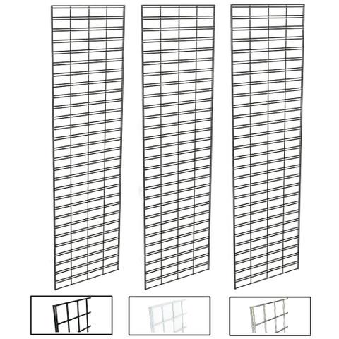 2' X 8' Slatgrid Panels   Black, White or Chrome