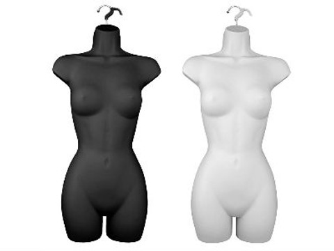 Female Body Form | Full Torso | Product Display Solution