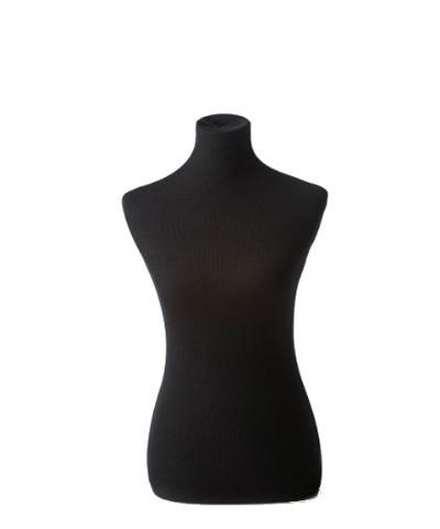 Black Female Dress Form | On a Wooden Black Tripod Base