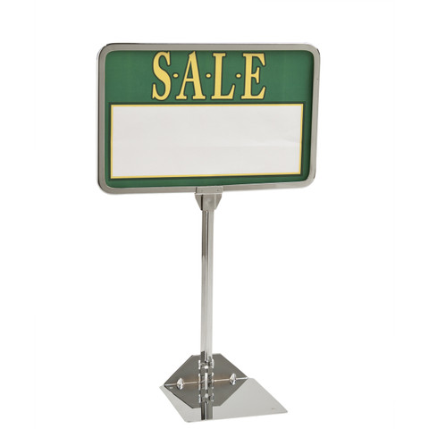 "7""H x 11""W Shovel Base Sign Holder 