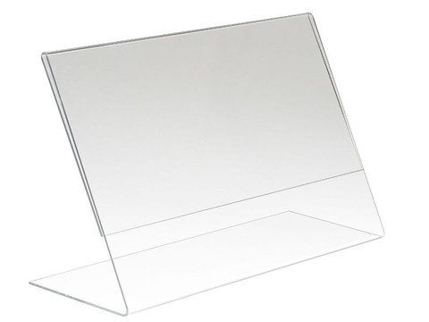 """5.5""""H x 7""""W Acrylic Countertop Sign Holder 