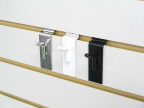 "1"" Slatwall Peg Hooks 