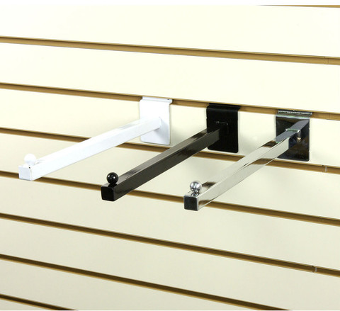 "Slatwall 16"" Straight Faceout Arm 