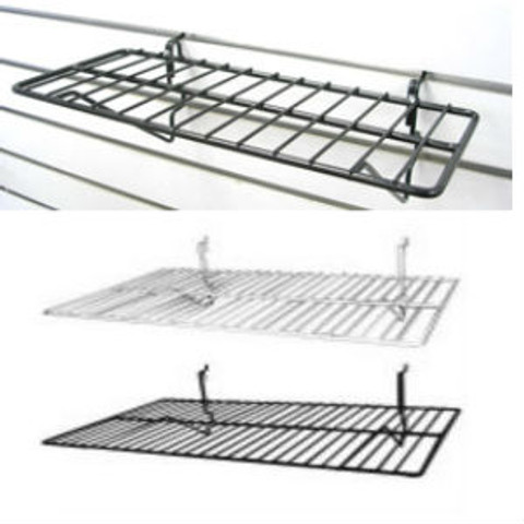 "6"" x 14"" Slatwal Wire Shelves 
