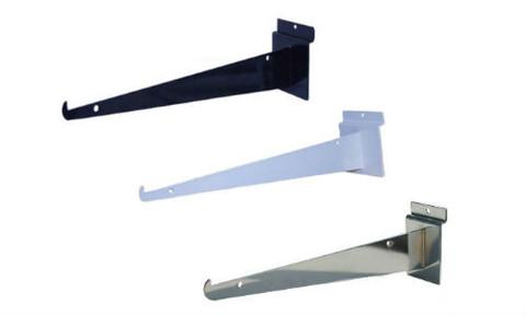 "8"" Slatwall Shelf Brackets | Product Display Solutions"