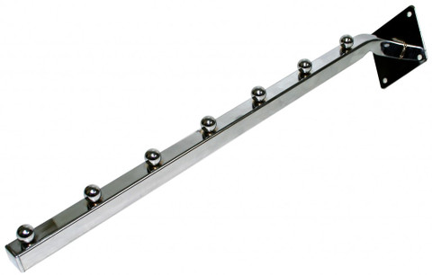 7 Ball Waterfall Wall Mount Faceout | Chrome