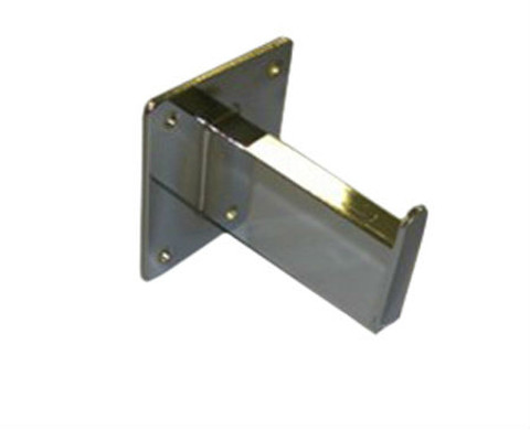 """3"""" Straight Wall Mount Rectangular Tube Faceout 