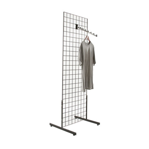 Gridwall Gondola Rolling & 2 Sided Free Standing Display Fixtures