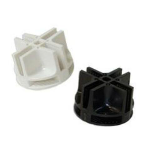 Plastic Connectors For Mini Grid Panels | Black or White 0