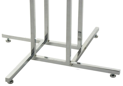 Four Way Clothing Display Rack