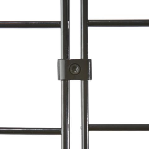Deluxe Slatgrid Connectors  Black, White Or Chrome