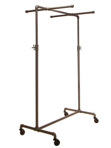 """41"""" Ballet Bar Pipeline Rack with TWO  26""""L Cross Bars 