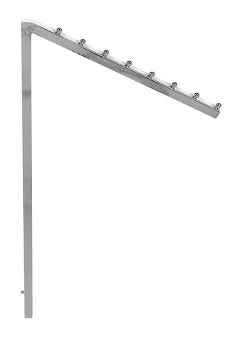 2-Way And 4-Way Rack Slanted Replacement Arm With 7 Retaining Studs