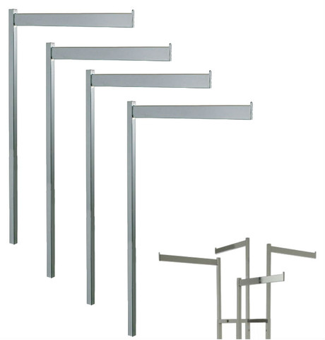 Straight Rectangular Replacement Arms for 2 way and 4 way racks.