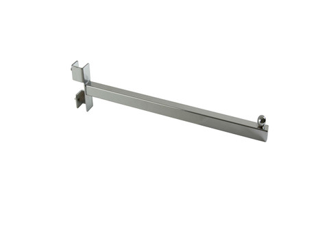 """Clothing Rack 12""""L Straight Add-On Arm   Fits 1"""" Square Tubing"""