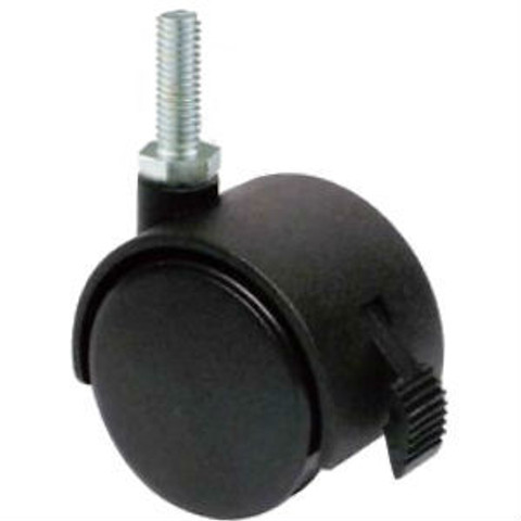 "3/8"" Threaded Casters for Clothing Racks 