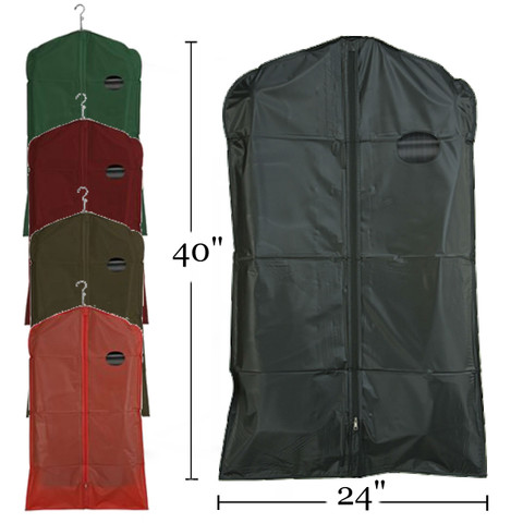 "40"" PEVA Zippered Suit Cover"