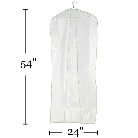 """54"""" Clear Overlap Cover 