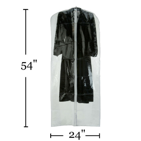 "54"" Vinyl Zippered Dress Cover"