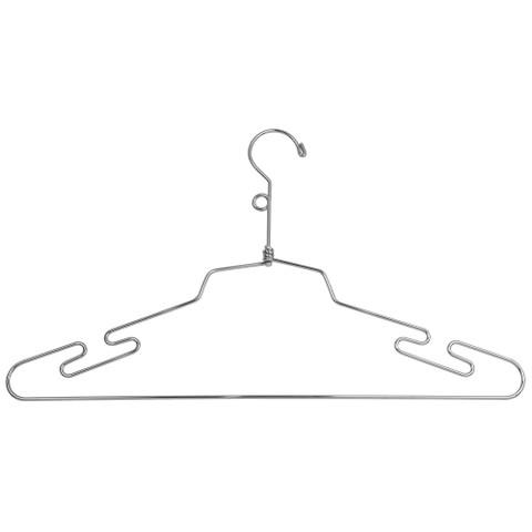 """16"""" Metal  Lingerie Hanger w/ Loop Hook"""