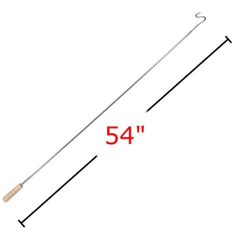 "54"" L Hanger Retriever With Wooden Handle"