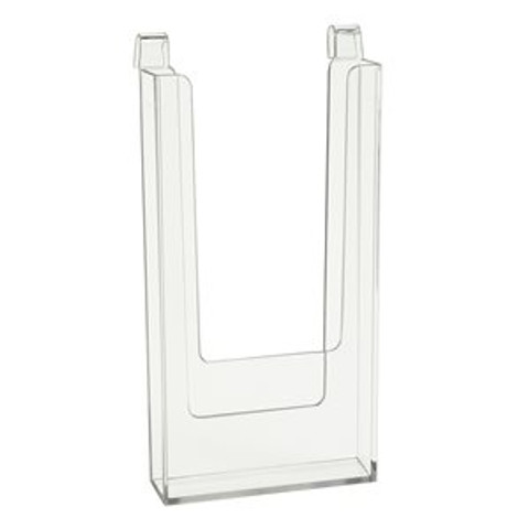 "Gridwall Brochure Holder 4"" x 9"" 4"