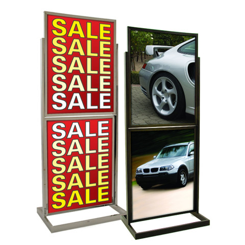 """22"""" x 28"""" Two Tiers Bulletin Sign Holder 